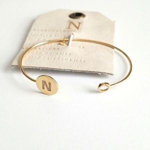 Anthropologie N Cuff Bracelet
